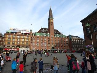 Radhuspladsen and Palace Hotel, Copenhagen