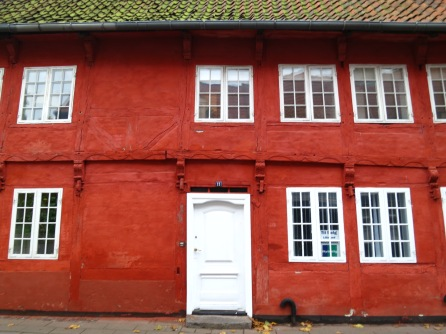 Helsingor half-timbered house