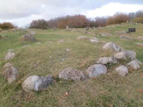 Viking burial ground, Lindholm Hoje