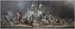 Graydon Parrish, The Cycle of Terror and Tragedy, 2002-2006 September 11th, 2001