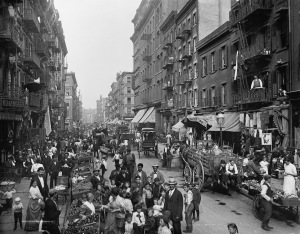 Mulberry Street, New York City (c. 1900)