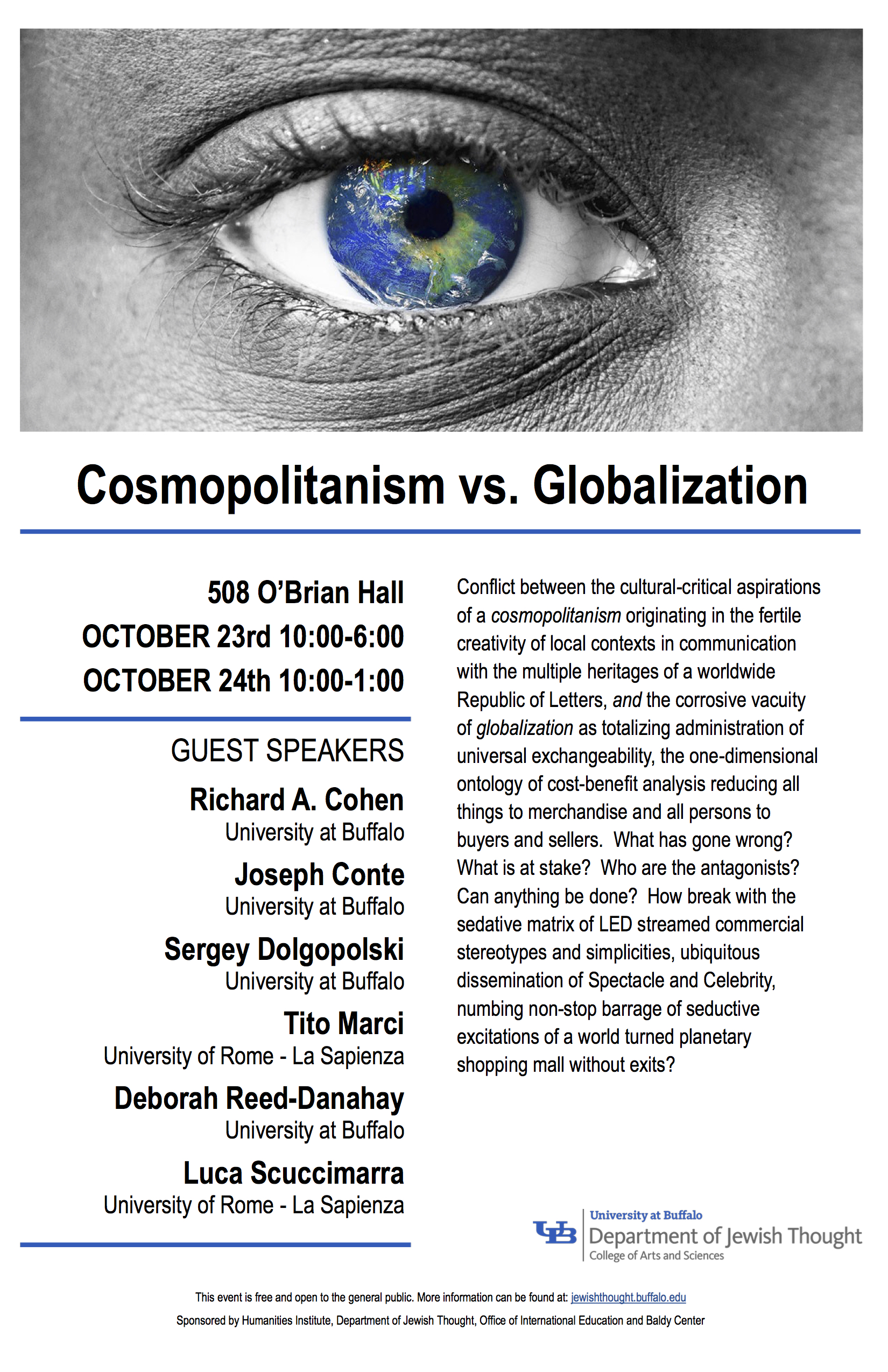 Cosmopolitanism Conference